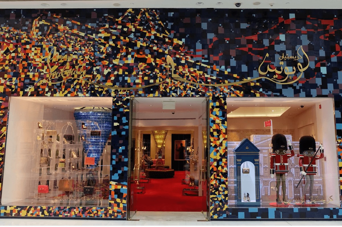 louboutin dubai outlet mall