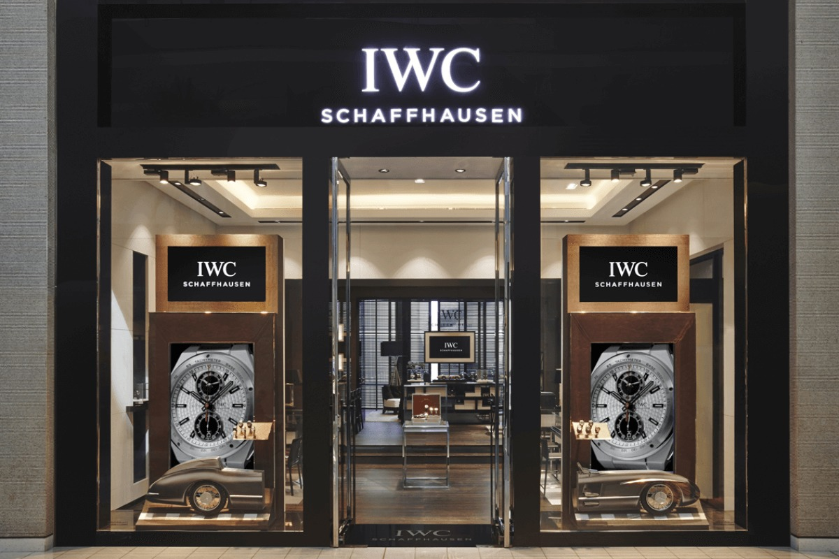 Iwc a luxury swiss watch manufacturer at the dubai mall for Boutique one dubai