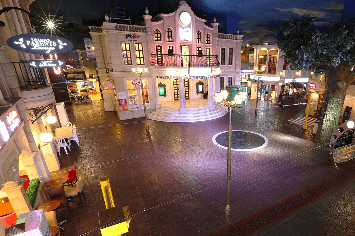Kidzania Education And Entertainment Children At The Dubai Mall