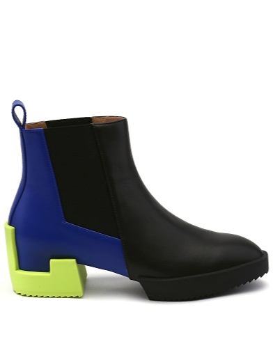 Issey Miyake x UN I Cubic Bootie I Black Hued