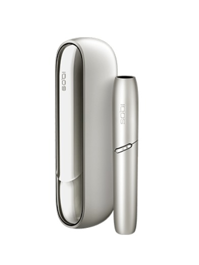 IQOS 3 DUO - Moonlight Silver Limited Edition