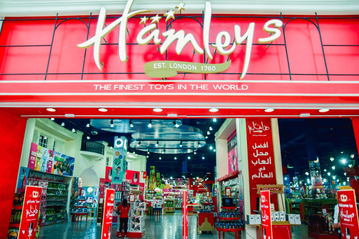 Toys From Hamleys : Hamleys the finest toy shop in world at dubai mall