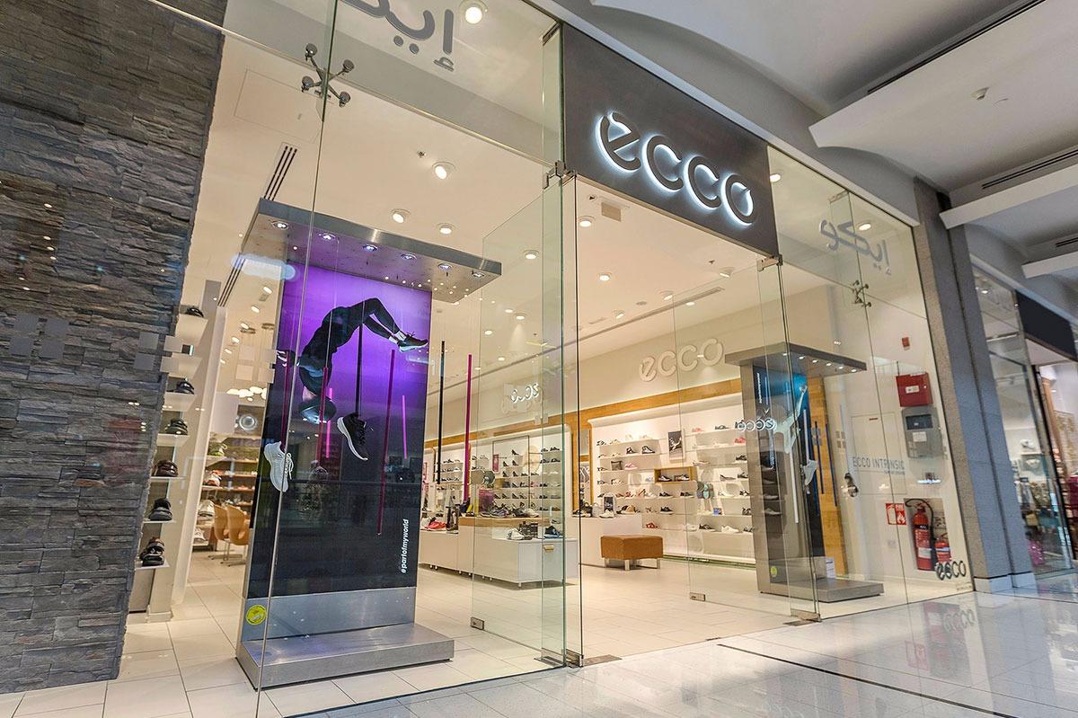 e280d6dd44eb1 إيكو شركة تصنيع الأحذية وبيعها في دبي مول
