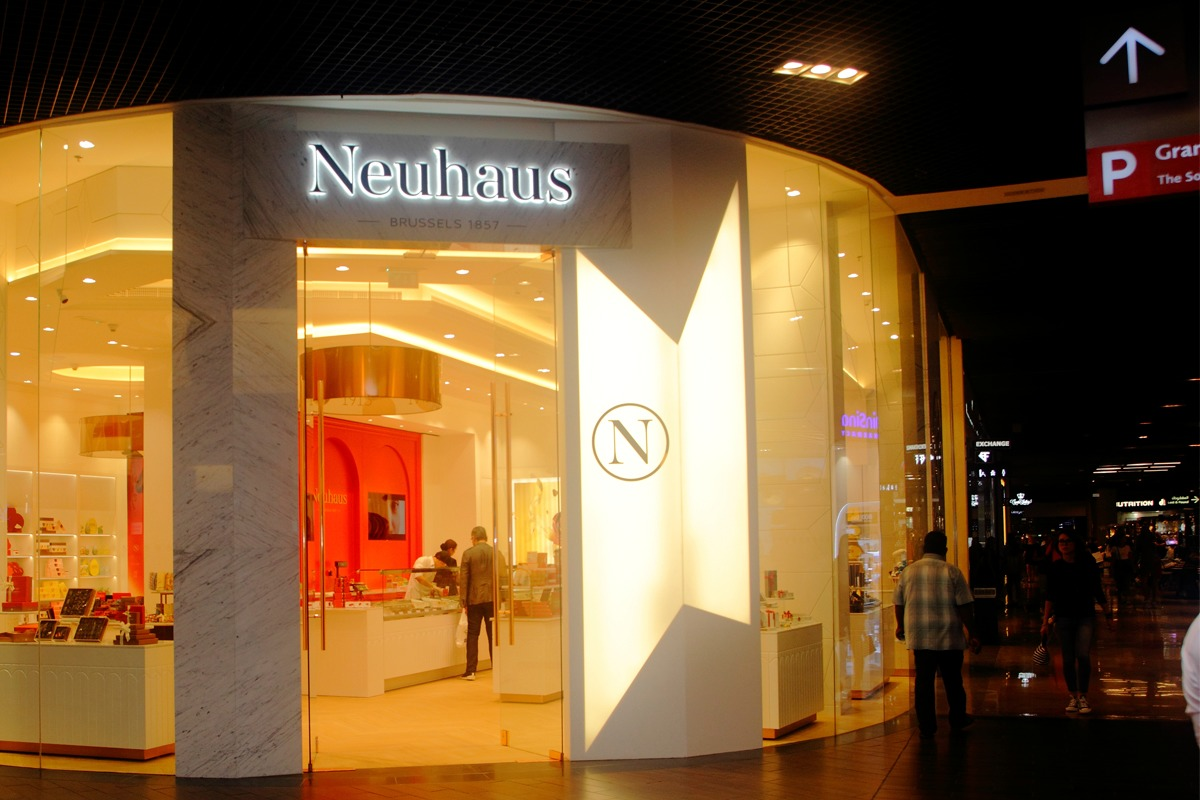 1cb5fe288d254 شوكولاتة نيوهاوس البلجيكية - دبي مول