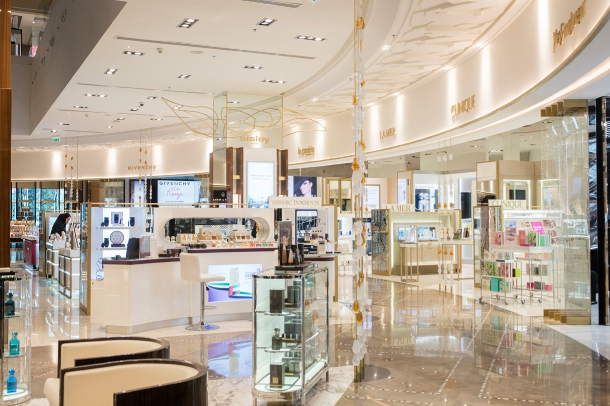 At Department Store The Mall Dubai Galeries Lafayette rtshdQC