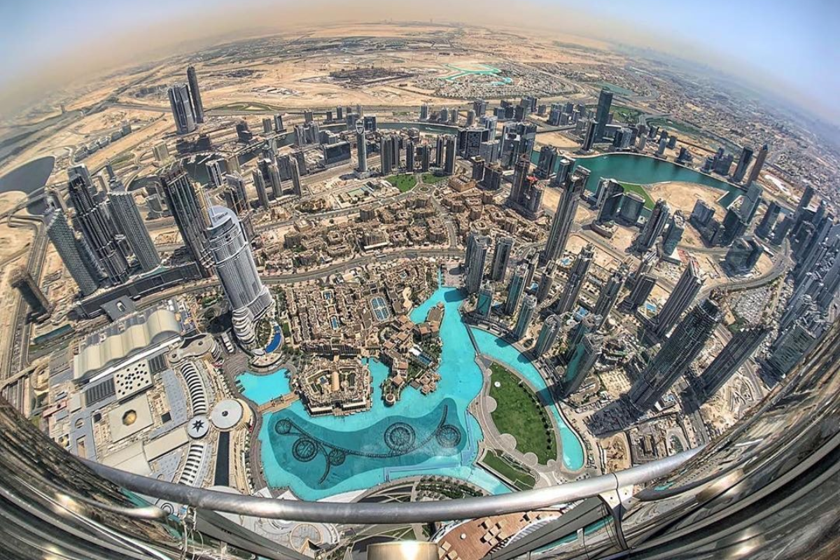 At The Top Burj Khalifa - The World's